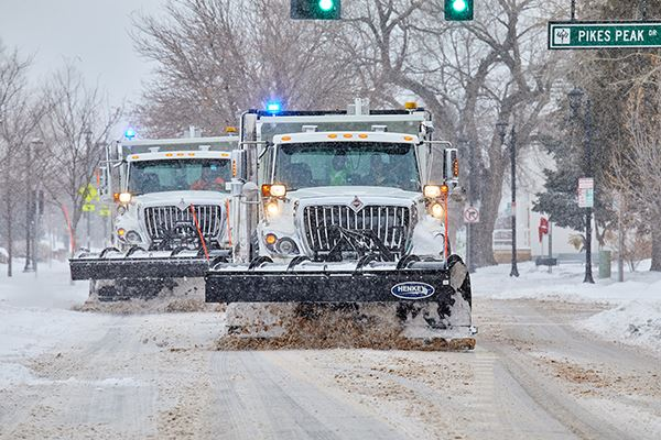 Snow Plows on Mainstreet - Spring 2019